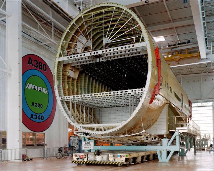 Mark Power, Building the Airbus A380, Saint-Nazaire, France, 2004 © Mark Power/Magnum Photos