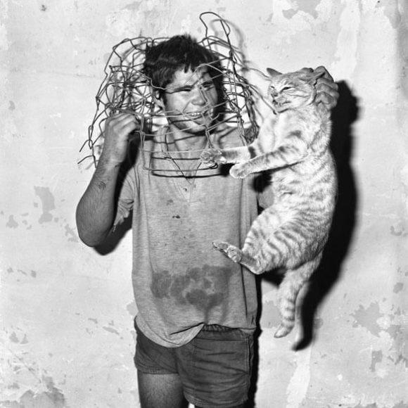 Cat Catcher, 1998 / © Roger Ballen