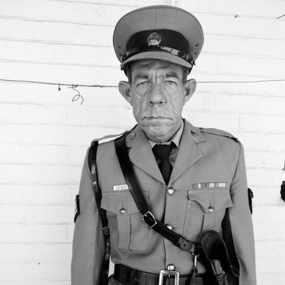 Sgt F de Bruin, Department of Prisons Employees, Orange Free State, 1992 / © Roger Ballen