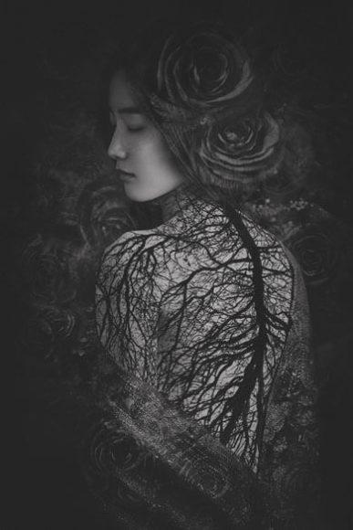The girl in Rose | © Suxing Zhang