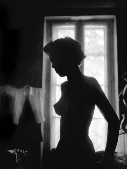 © René Groebli, Silhouette, from the series The Eye of Love, Paris, 1952.