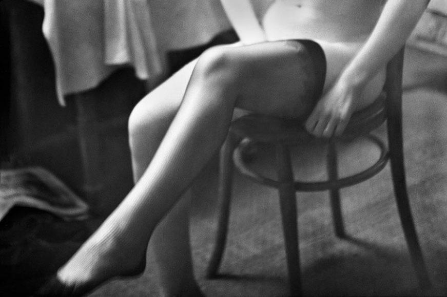 © René Groebli, Stockings, from the series The Eye of Love, Paris, 1952.