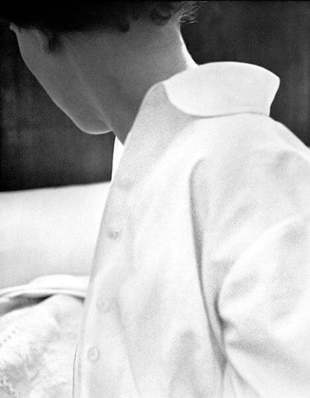 © René Groebli, White blouse, from the series The Eye of Love, Paris, 1952.