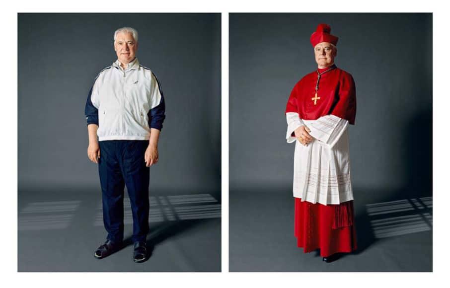 """Herlinde Koelbl, Bischof aus der Serie """"Kleider machen Leute"""", 2009, © Herlinde Koelbl."""