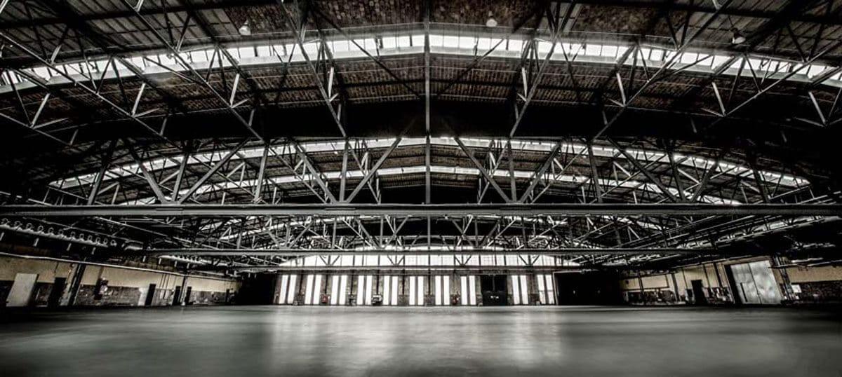 Ort der Berlin Photo Week: Die Arena Halle, © Markus Nass.