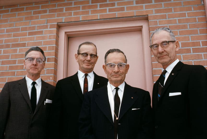 Men in Black, 1968.