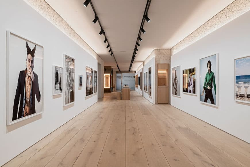 Leica Galerie München, Design OHA und Holzrausch, © Oliver Jaist.