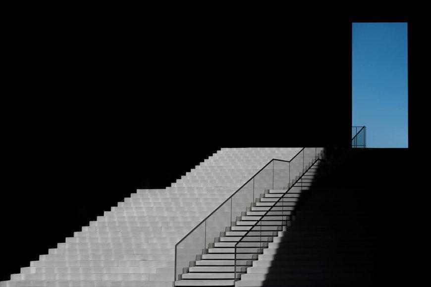 The Blue Window. © Klaus Lenzen, Germany, Category Winner, Open, Architecture, 2021 Sony World Photography Awards.