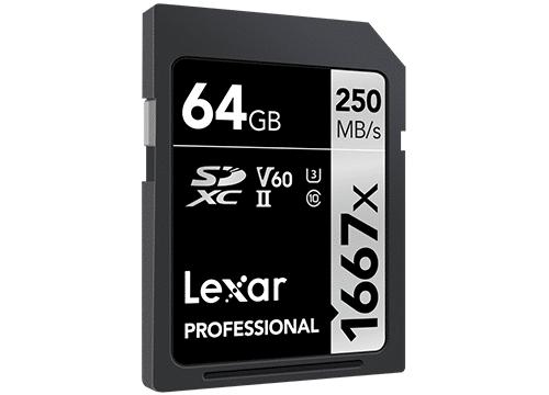 """LEXAR PROFESSIONAL SDXC 64 GB<br><span class=""""zuzahlung"""">Ohne Zuzahlung</span><br><a href=""""lexar""""><span class=""""mehrpraemie"""">Mehr</span></a>"""