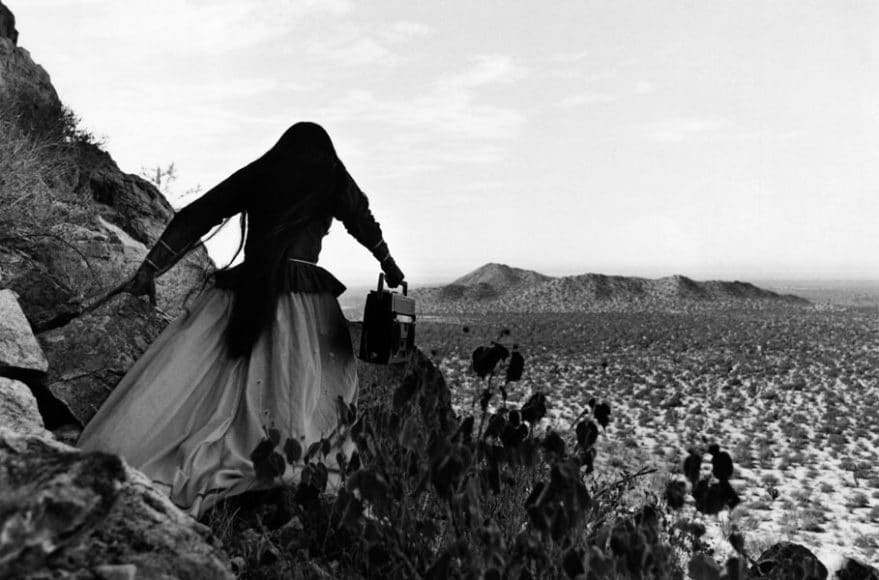 Die Mexikanerin Graciela Iturbide erhielt den Preis für Herausragende Leistungen für die Fotografie. Dieses Motiv entstand 1979 in der Sonora Wüste in Mexiko.