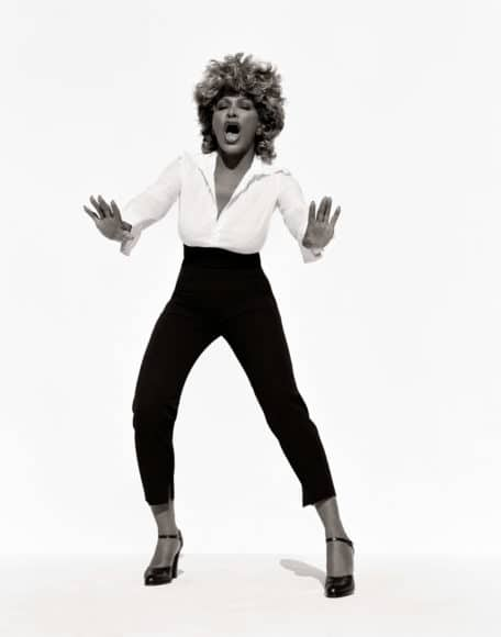Tina Turner (d), Los Angeles, 1999 © Herb Ritts