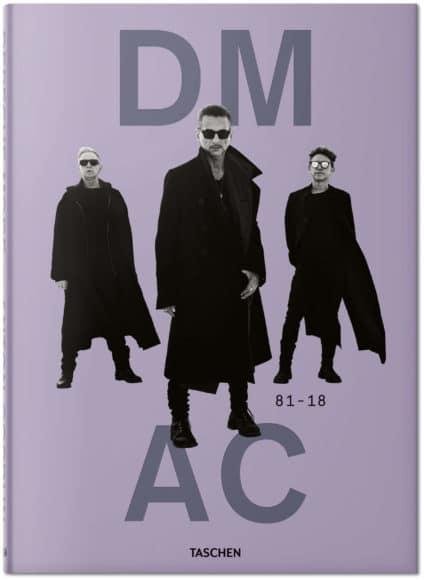 """Depeche Mode by Anton Corbijn"". Anton Corbijn, Reuel Golden. Hardcover, 24,3 x 34 cm, 3,67 kg, 512 Seiten. 100 Euro. ISBN 978-3-8365-8670-2 (Deutsch, Englisch, Französisch)."