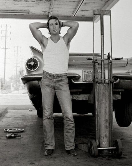 © Herb Ritts, Richard Gere, San Bernardino, 1979, Courtesy of CAMERA WORK Gallery.