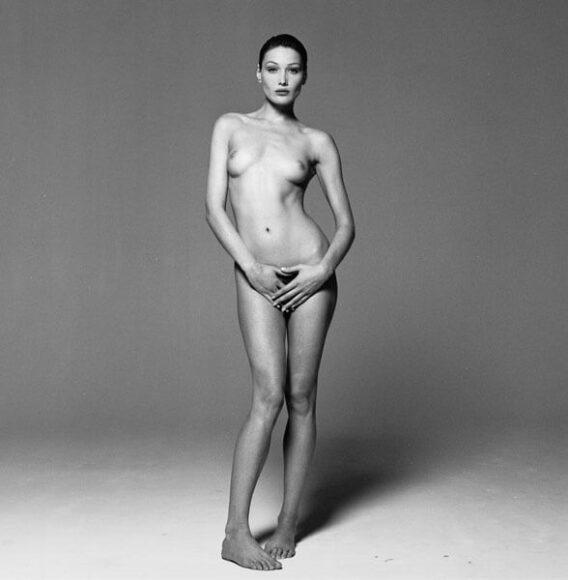 © Michel Comte, Carla Bruni, (Italian Vogue), 1993, Courtesy of CAMERA WORK Gallery.