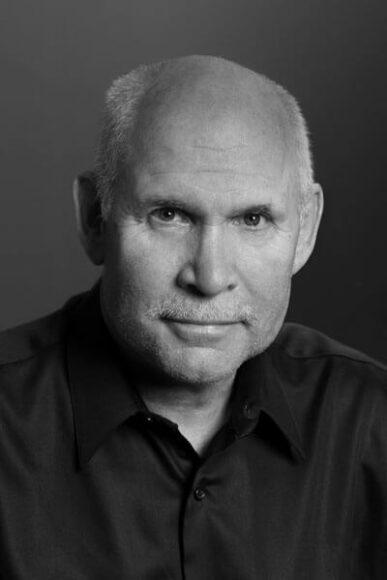 Portrait von Steve McCurry (Foto: © Bruno Barbey).