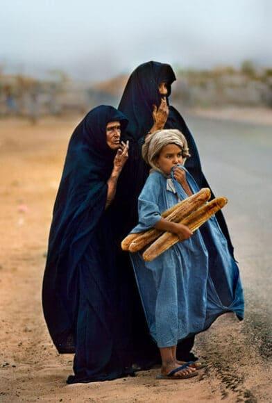 Mauretanien, 1986 / © Steve McCurry, courtesy Atelier Jungwirth / atelierjungwirth.com