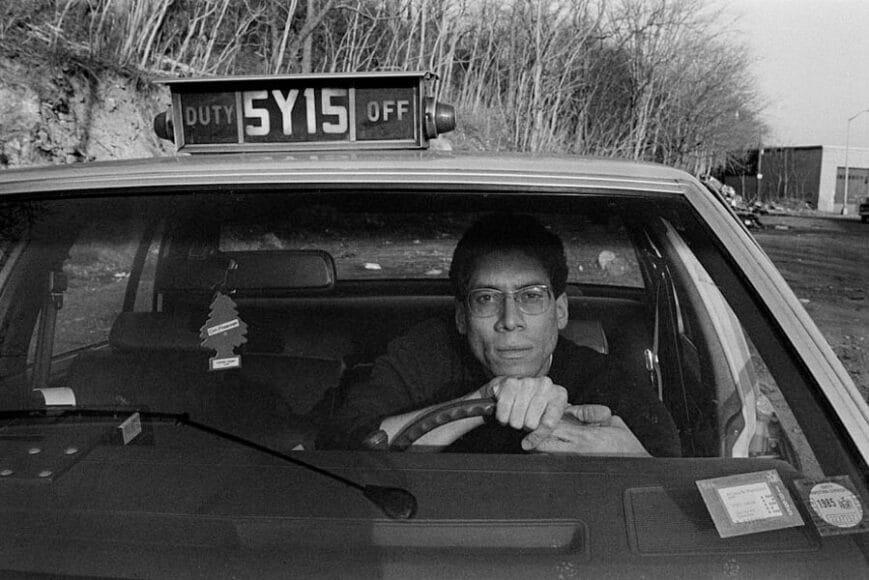 Joseph Rodriguez, TAXI Series, Self Portrait NY 1984, © Joseph Rodriguez, courtesy Galerie Bene Taschen.