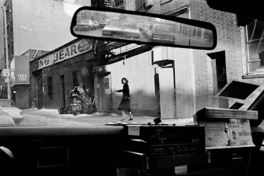 Joseph Rodriguez, TAXI Series, 220 West Houston Street, NY 1984, © Joseph Rodriguez, courtesy Galerie Bene Taschen.