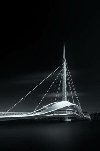 © Peng-Kang Fang: Gold in Architecture/Bridges.