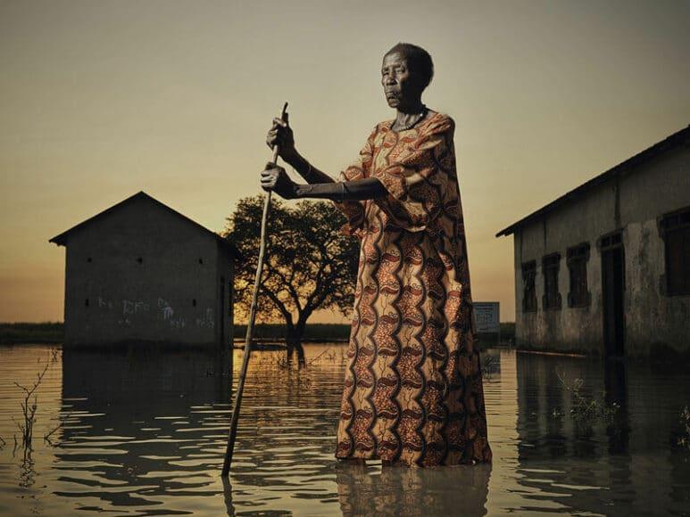 © Peter Caton: Gold in Editorial/Environmental, 2nd Place winner in Editorial (Überflutung im Südsudan).