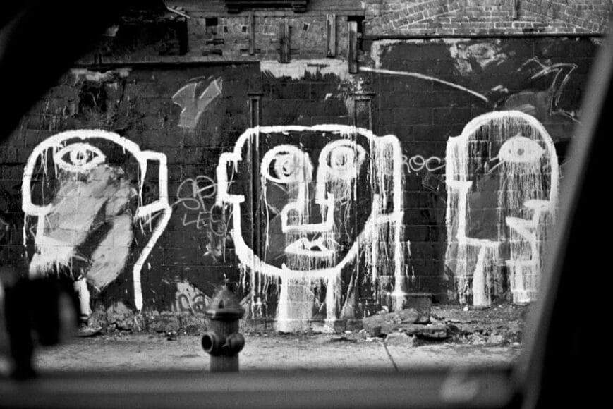 Joseph Rodriguez, TAXI Series, East Village NY 1984, © Joseph Rodriguez, courtesy Galerie Bene Taschen.