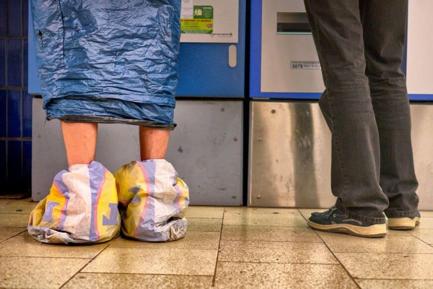 Ein Optimist ist ein Mensch, der die Dinge nicht so tragisch nimmt, wie sie sind. Text: Karl Valentin. Foto: Herbert Becke.