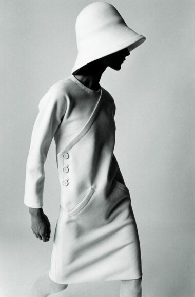 """Paris…"", Bernadette / Modell von Nina Ricci Paris 1966 / © F.C. Gundlach / Stiftung F.C. Gundlach"