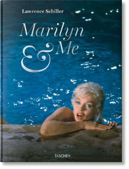 """""""Lawrence Schiller. Marilyn & Me"""", Lawrence Schiller, Hardcover, 23,2 x 31,6 cm, 1,85 kg, 200 Seiten ISBN 978-3-8365-6314-7 (Deutsch, Englisch) ISBN 978-3-8365-6313-0 (Englisch), 50 Euro."""